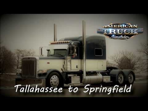 American Truck Simulator  - Tallahassee (Florida) to Springfield (Illinois)