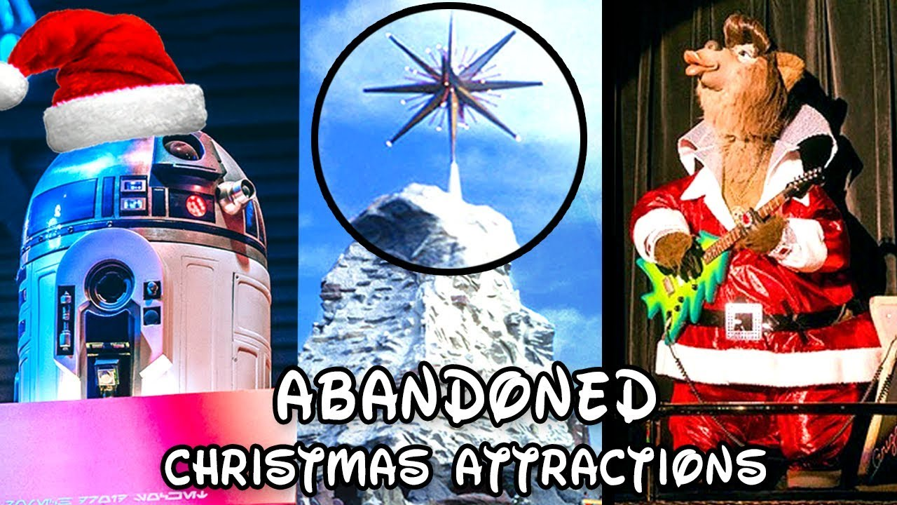 Yesterworld: 7 Abandoned Disneyland Christmas Attractions, Overlays & Events