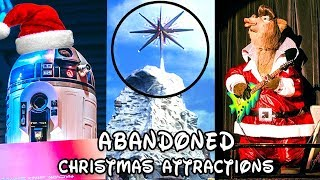 Yesterworld: 7 Abandoned Disneyland Christmas Attractions, Overlays & Events (Disney Christmas)
