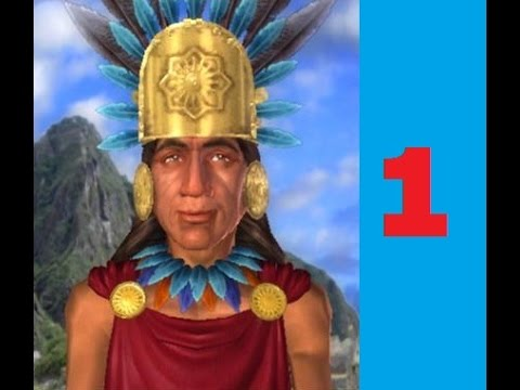 Incan on Emperor difficulty Civilization 4 Let's play part 1