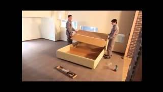 Сборка кровати с подъемным механизмом(Как собрать кровать с подъемным механизмом? Купить двуспальную кровать в интернет-магазине