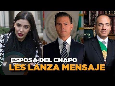 Esposa del Chapo escribe mensaje a Peña Nieto y Calderón #JuicioChapo