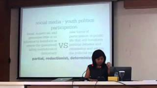 Open Lecture  Prof  Merlyna Lim at Fisipol UGM