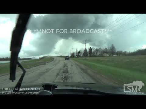 04-14-19 Shelby, OH - Tornado incident and Damage