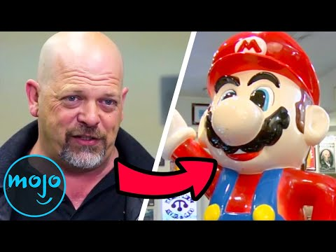Top 10 Pawn Stars Items With The Craziest Histories