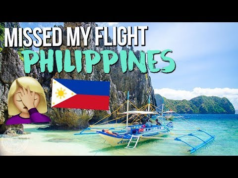 I MISSED MY FLIGHT TO THE PHILIPPINES