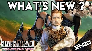 Everything That Is New With Final Fantasy XII The Zodiac Age !