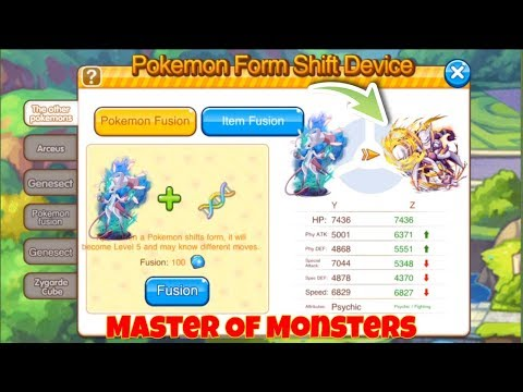 Master Of Monsters - My New Mewtwo Z + Amazing PVP Replay 119.0 👌🏻