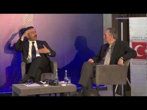 INTERPOL SECRETARY GENERAL RONALD K. NOBLE INTERVIEW - SPORTS BUSINESS SUMMIT,
