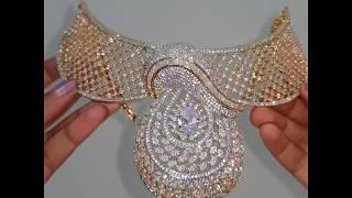 100% diamond replica bridal jewelry
