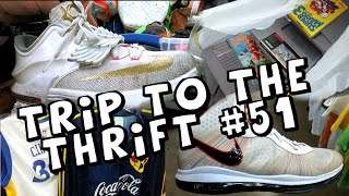 Trip To The Thrift #51 - Aunt Pearl KDs, $1 Nintendo Games, And Vintage Jerseys!?