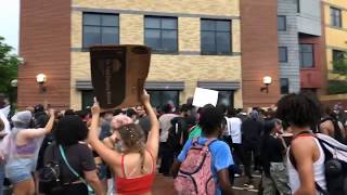 Live at the George Floyd Protest - Minneapolis MN.