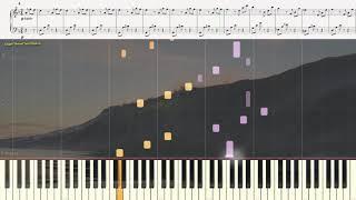Буря - Л. Бетховен (Фрагмент лёгкий) )(Ноты и Видеоурок для фортепиано) (piano cover)