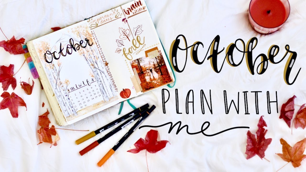 October Journal Art