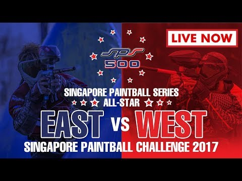 SPS All-Star EAST vs WEST Singapore Paintball Challenge 2017