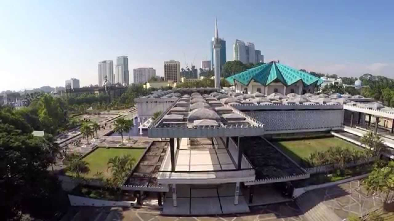 Image result for kuala lumpur national mosque