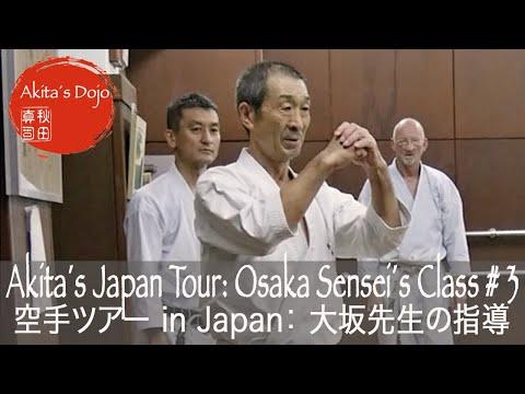 Sensei Yoshiharu Osaka Jion - #3 Akita´s Japan Tour: Shotokan Karate Class In Tokyo, Hoitsugan Dojo