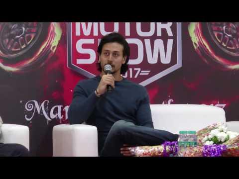 Tiger Shroff Launch Of 5th Edition Of Mumbai International Motor Show 2017