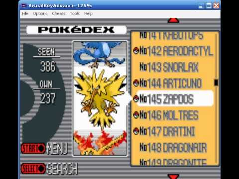 Pokedex Completa Pokemon Light Platinum
