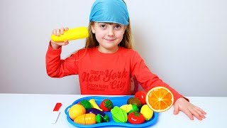 Ulya Learn Fruits and Vegetables with toys