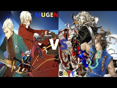 Dante & Vergil vs Alucard & Richter