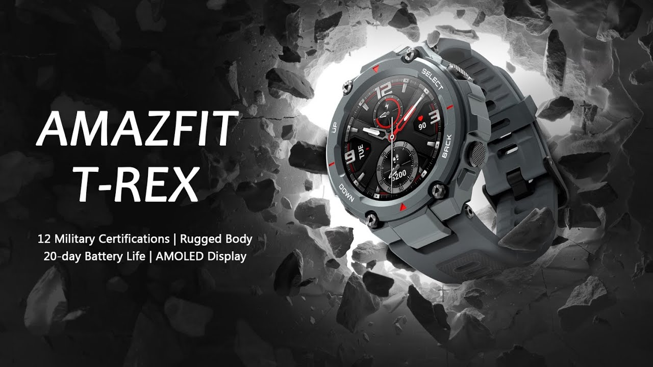 Best Amazfit T-Rex Smartwatch in 2020: Rugged & Cheaper Than You'd Expect