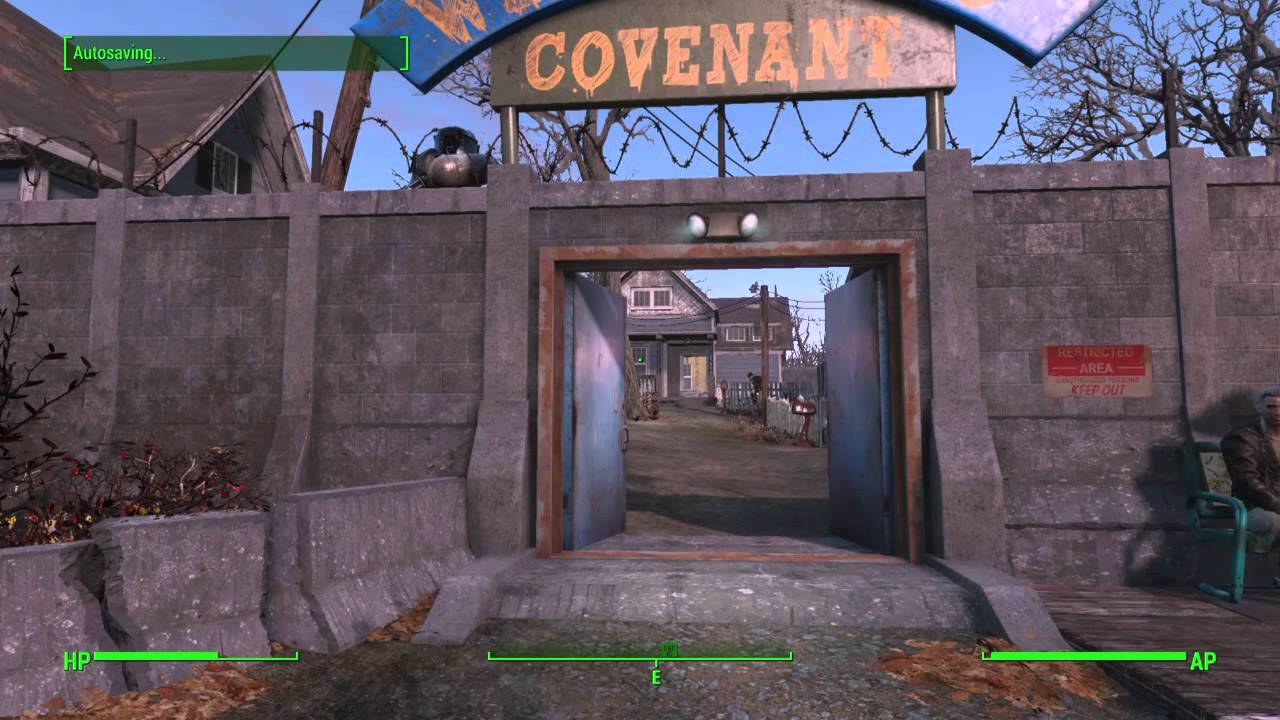 fallout 4 how to find the covenant secret compound human error