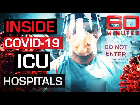 Inside Australia's COVID-19 ICU hospitals   60 Minutes Australia