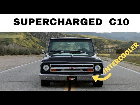 SUPERCHARGED BIG BLOCK Chevy C10!! - One Take