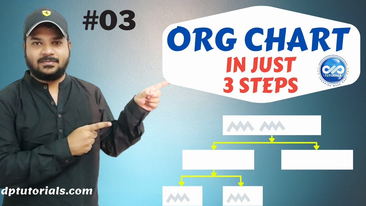 how to make an organizational chart in just 3 steps ms
