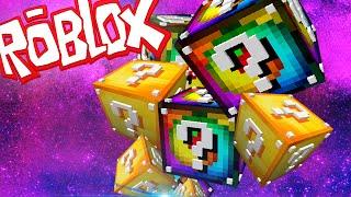 ROBLOX LUCKY BLOCKS TYCOON - Gameplay español