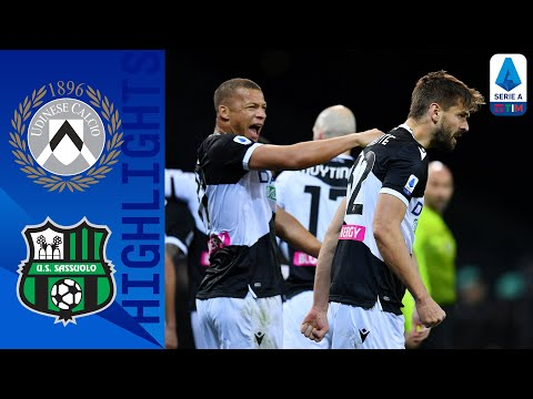 Udinese Sassuolo Goals And Highlights