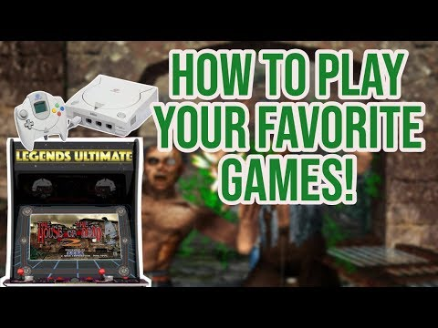 AtGames Legends Ultimate Arcade Play Dreamcast & Other Greats!