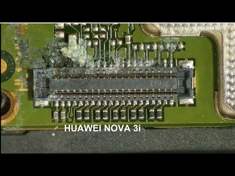 Huawei NOVA 3i - УТОПЛЕННИК! Нет подсветки. / Nova 3i - Water Damage Repair. No Backlight.