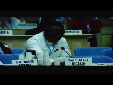 Governor Ayade Presentation at the WHO Summit on NTDs at Geneva, Switzerland
