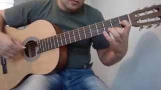 Уроки гитары.Романс Гомеса.2 часть