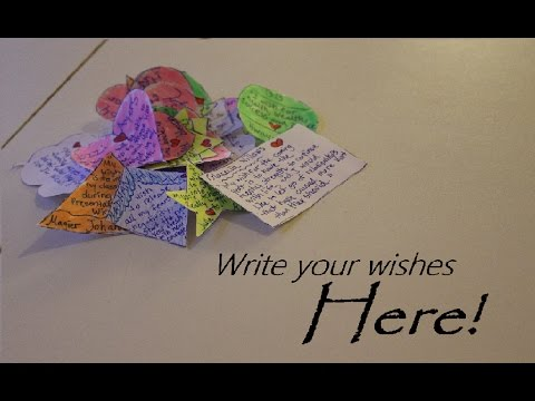 Write your wishes here