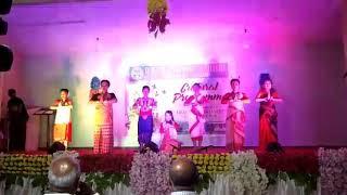 Folk Dace...... Kanoi Commerce  College, Choreograph  by Diganta Borah