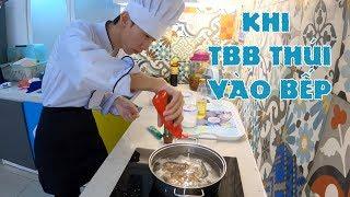 Thử Thách 100k Nấu Mì Cay Với Vua Đầu Bếp TBB Thơm