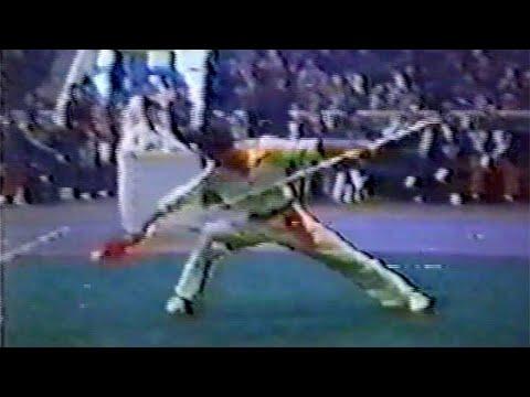 【武術】1984 男子槍術 (1/4) / 【Wushu】1984 Men Qiangshu (1/4)