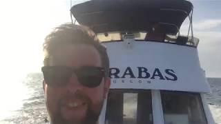Москва - Сочи по воде (эпизод 16: Керчь - Анапа, яхт-клуб Утриш, купание)