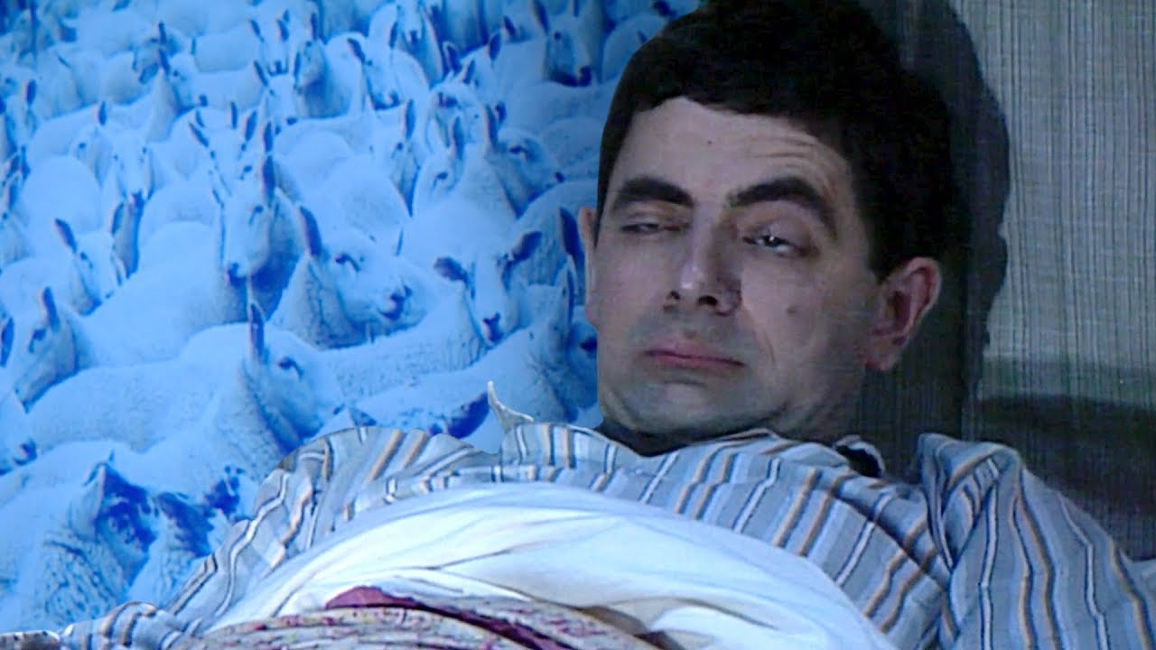 Sleepy Bean | Funny Clips | Mr Bean Official - YouTube