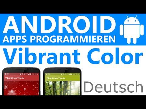 Vibrant Color (dominanteste Farbe Aus Bild Auslesen) - Android Apps Programmieren [Deutsch / German]