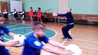 Урок фізичної культури з елементами футболу, конкурс