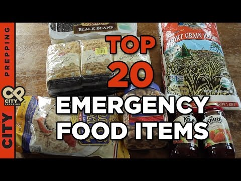 How to easily build a 2 week emergency food supply