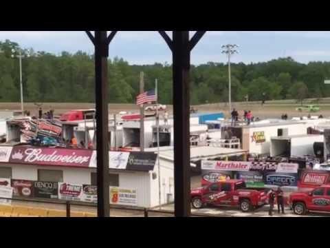 7W purestock heat 5-27-17 Viking Speedway part 2