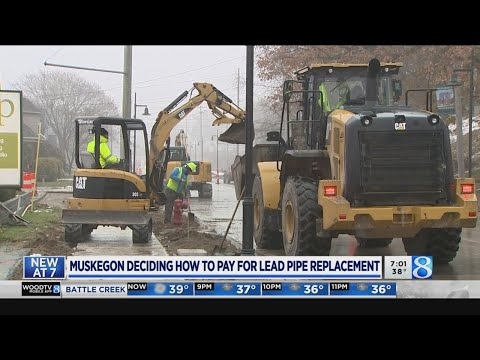 Muskegon deciding how to pay for lead pipe replacement