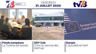 7/8 Europe. La Turbine et le SQYCUB