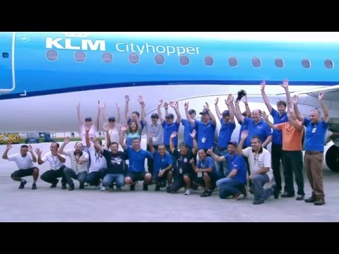 First E175 delivery to KLM Cityhopper