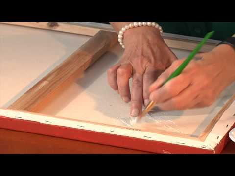 How to Repair a Rip in an Oil Painting : Painting Basics
